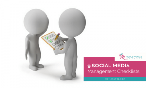 9 Social Media Management Checklists-featured