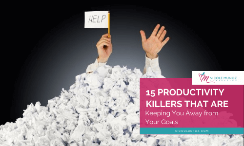 15 Productivity Killers -featured